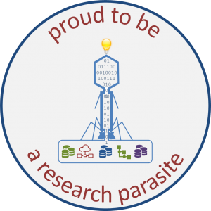 Proud to be research parasite
